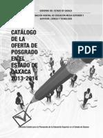 Catalogo Posgrado 2013-2014