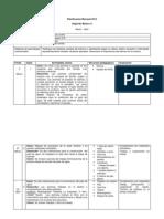 Planificación Mensual 2014 Segundo Básico A