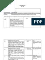 Planificación Mensual Quinto Básico a Marzo -Abril 2014
