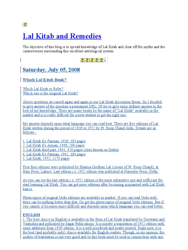 lal kitab and remedies | Astrology | Esoteric Cosmology