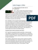 Entrevista Com o Pr Daniel e Eunice Machado