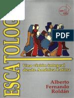 Escatologia Alberto f Roldan
