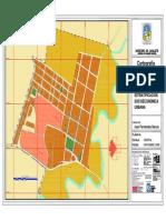Mapa Urbano de Canalete