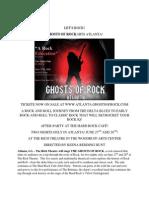 Ghosts of Rock Hits Atlanta
