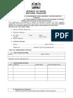 Yagpo Application Form