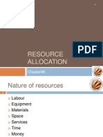 Resource Allocation Compatible