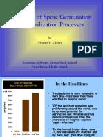 Detection of Spore Germination for Sterilization Processes