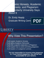 Student Plagiarism Powerpoint