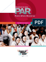 Public Affairs Round-up May 2014