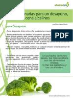 Sugerencias Dieta Alcalina Rosa Lopez