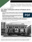Un vídeo viral para salvar el Palacio de la Música (Eldiario.es - 18/05/2014)