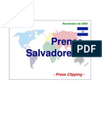 Lanzamiento en El Salvador