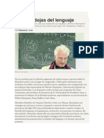 Emanuel Taub. Las Paradojas Del Lenguaje.