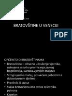 Bratovštine u Veneciji - Novak, Žužić