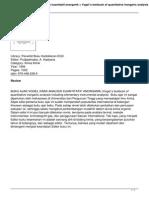 Buku Ajar Vogel Kimia Analisis Kuantitatif Anorganik Vogels Textbook of Quantitative Inorganic Analysis Including Elementary Instrumental Analysis (6)