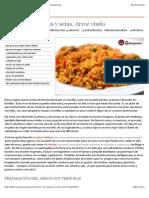 Arroz con verduras y setas. Arroz viudo - Recetasderechupete.com.pdf