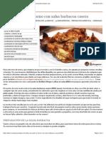 Alitas de pollo al horno con salsa barbacoa casera - Recetasderechupete.com.pdf