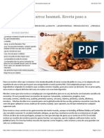 Pollo al curry con arroz basmati. Receta paso a paso - Recetasderechupete.com.pdf