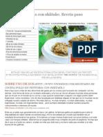 Pollo en pepitoria con shiitake. Receta paso a paso - Recetasderechupete.pdf