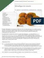 Receta de Pseftokefedes o Albóndigas de tomate griegas - Recetasderechupete.pdf