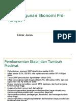 Pembangunan Ekonomi Pro-Rakyat