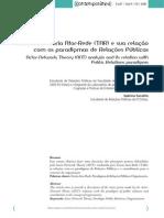 Análise Da Teoria Ator-Rede (TAR) e Sua Relação Com Os Paradigmas de Relações Públicas