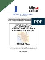 Catalogo De AnEcash