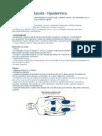 Injectia subcutanata