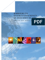 Barriers to Energy Efficiency Review and Policy Guidance