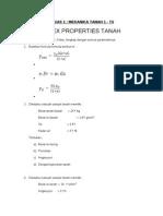 Tugas 1 Index Properties Tanah_070213