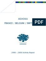 Ashoka France, Belgium, Switzerland - Activity Report 2006-2009