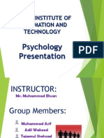 Psycology Presentation