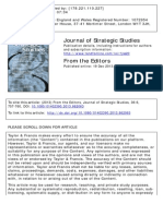 Journal of Strategic Studies