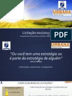 Treinamento para Licitações - Urbana 2014