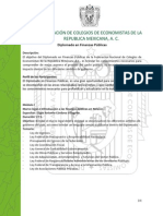 Diplomado Finanzas Publicas - Programa Temático