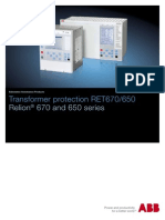 1MRK504112-SUS C en Transformer Protection RET670 1.2 650 1.1 ANSI