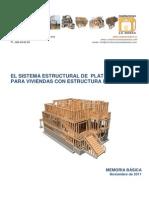 Memoria Basica Para Estructuras de Madera Cc