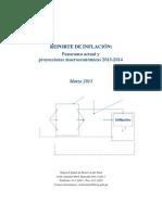 Reporte de Inflacion Marzo 2013