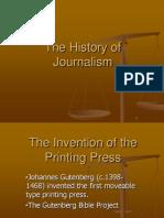 history of journalism pdf
