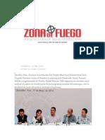 18-05-2014 Zona de Fuego - En Zacatlán Rosario Robles y Moreno Valle en contra del hambre. .