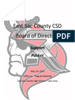 May 19, 2014 ESC School Board Support Docs