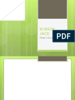 Design Analysis of Scissor Jack