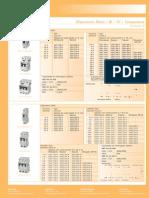 Tabela disjuntor
