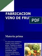 Producción de Vino de Frutas