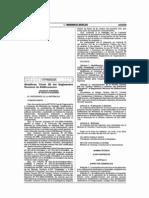 Modifican Titulo III Reglamento Nacional Edificaciones