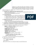 Laborator  SQL 1
