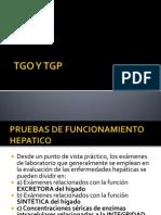 TGO Y TGP