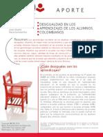 DUARTE y BOS-Desigualdad en Los Azjes de Alumnos Colombianos