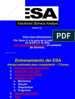 ESA Training English