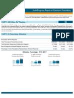 Virginia 2013 Progress Report on E-Prescribing